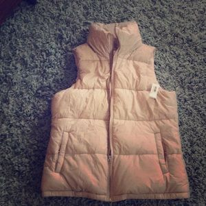 Old Navy Rose Pink Puffy Vest